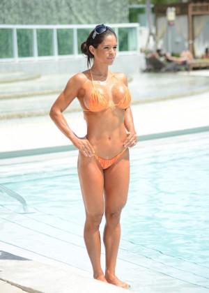 Michelle Lewin in Bikini 2014 -27