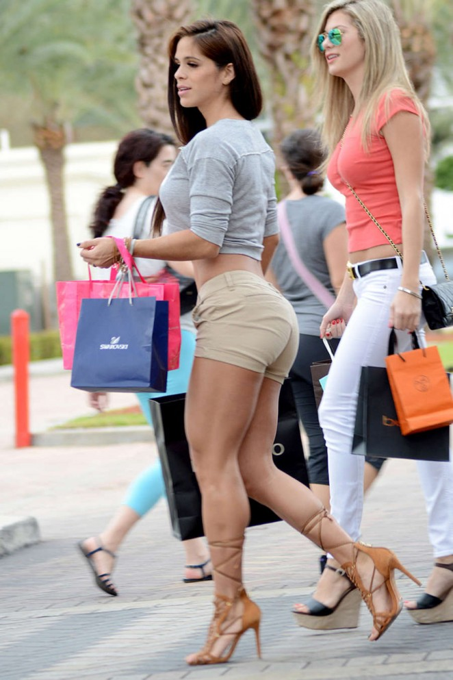 Christmas dress with bling - Back To Post Michelle Lewin Shopping In Miami