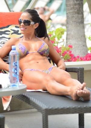 Michelle Lewin - Wearing Bikini -02