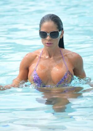 Michelle Lewin - Wearing Bikini -03