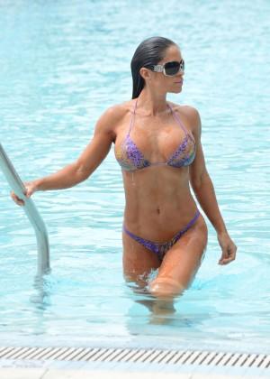 Michelle Lewin - Wearing Bikini -05