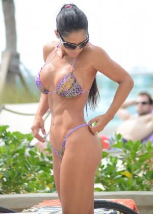 Michelle Lewin - Wearing Bikini -08