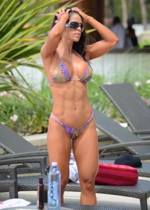 Michelle Lewin - Wearing Bikini -09