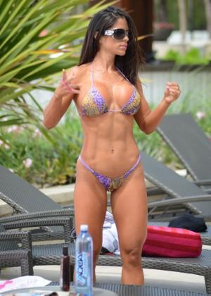 Michelle Lewin - Wearing Bikini -10