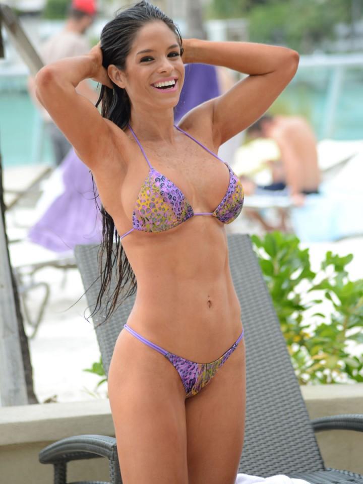 Michelle Lewin - Wearing Bikini -12