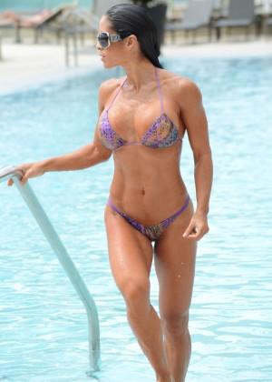 Michelle Lewin - Wearing Bikini -15