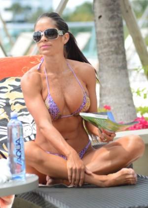 Michelle Lewin - Wearing Bikini -16