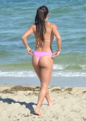 Michelle Lewin Hot in Bikini -03