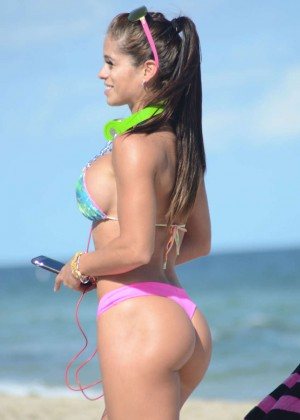 Michelle Lewin Hot in Bikini -04