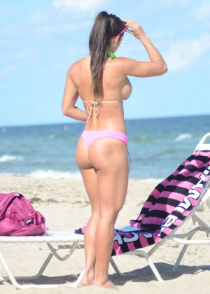 Michelle Lewin Hot in Bikini -06