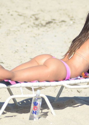 Michelle Lewin Hot in Bikini -07