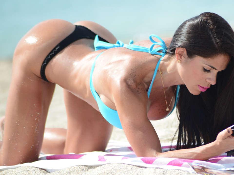 Michelle Lewin 2014 : Michelle Lewin Bikini Photos: on Miami Beach-03