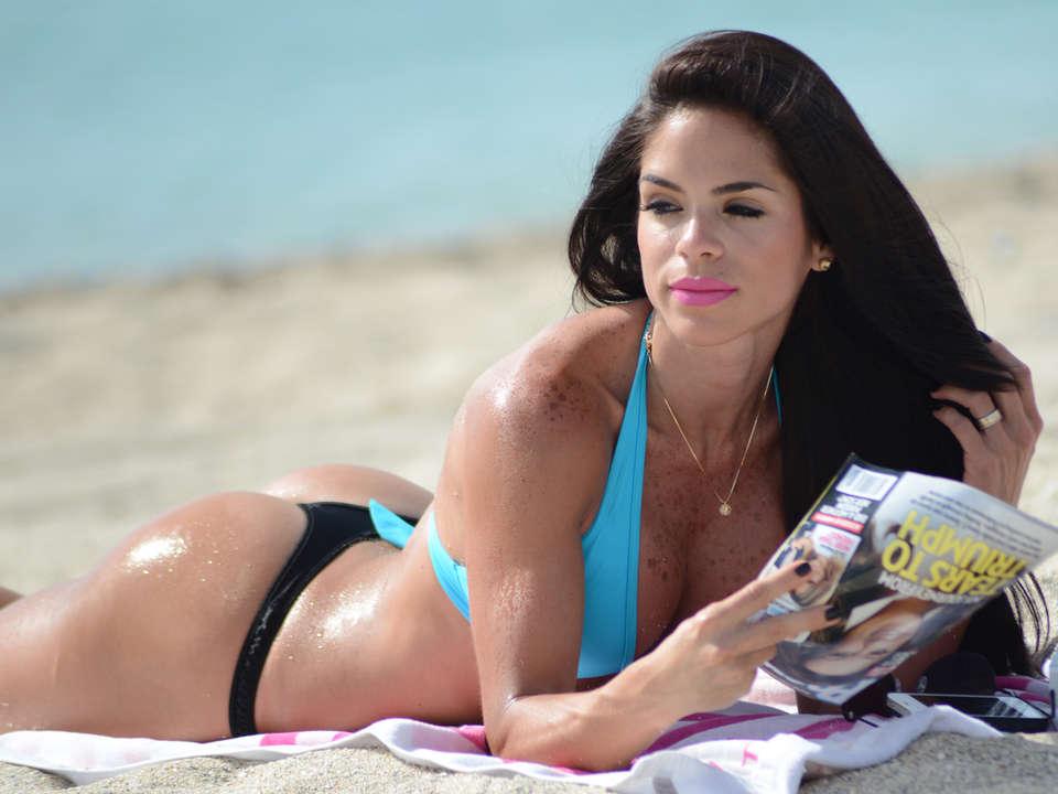 Michelle Lewin 2014 : Michelle Lewin Bikini Photos: on Miami Beach-04