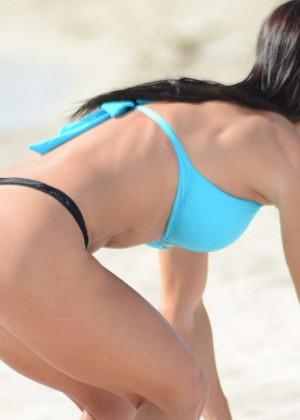 Michelle Lewin Bikini Photos: on Miami Beach-05