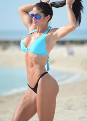 Michelle Lewin Bikini Photos: on Miami Beach-08
