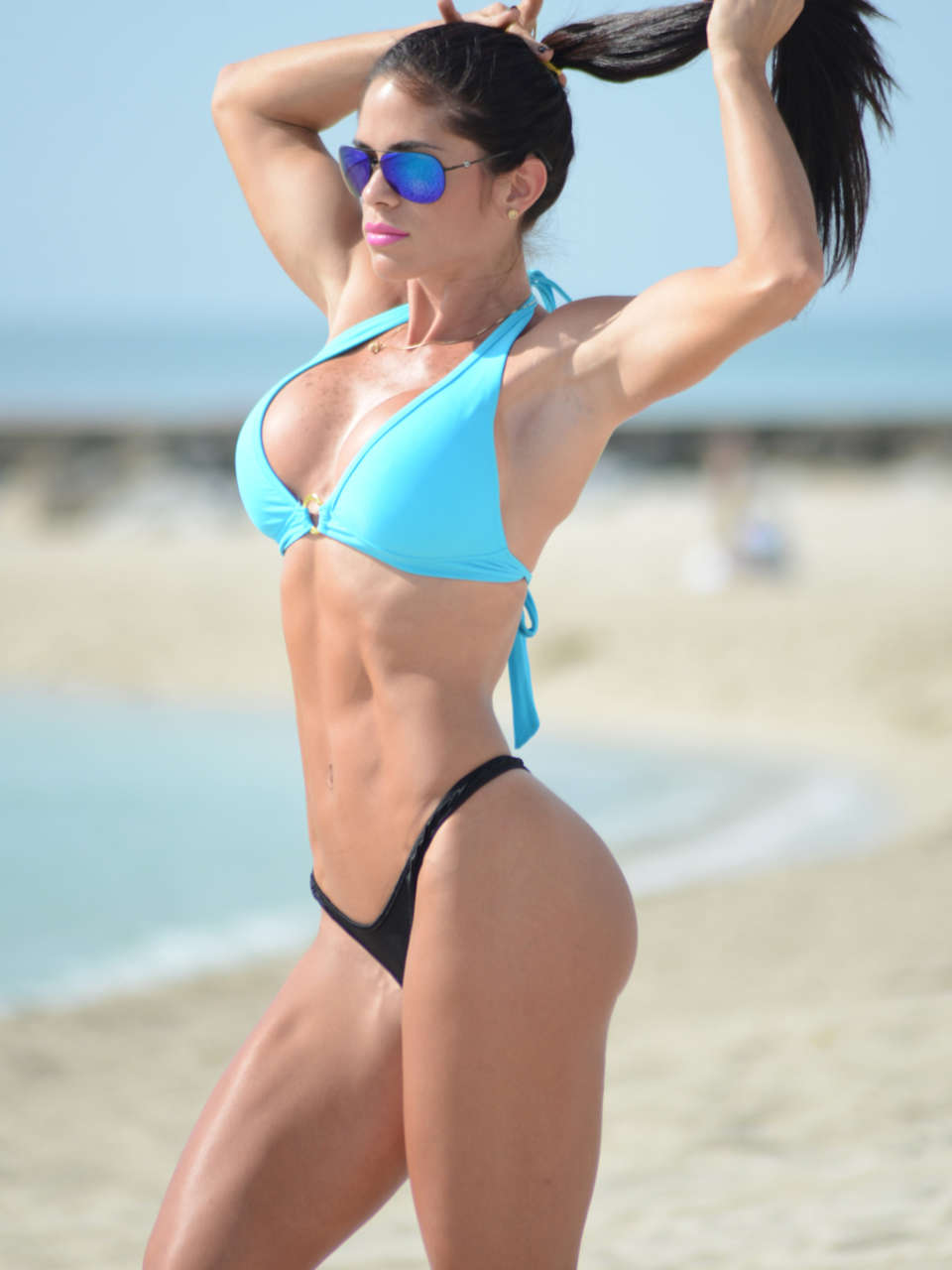 Michelle Lewin 2014 : Michelle Lewin Bikini Photos: on Miami Beach-08