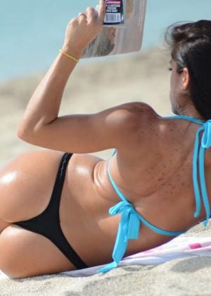 Michelle Lewin Bikini Photos: on Miami Beach-10