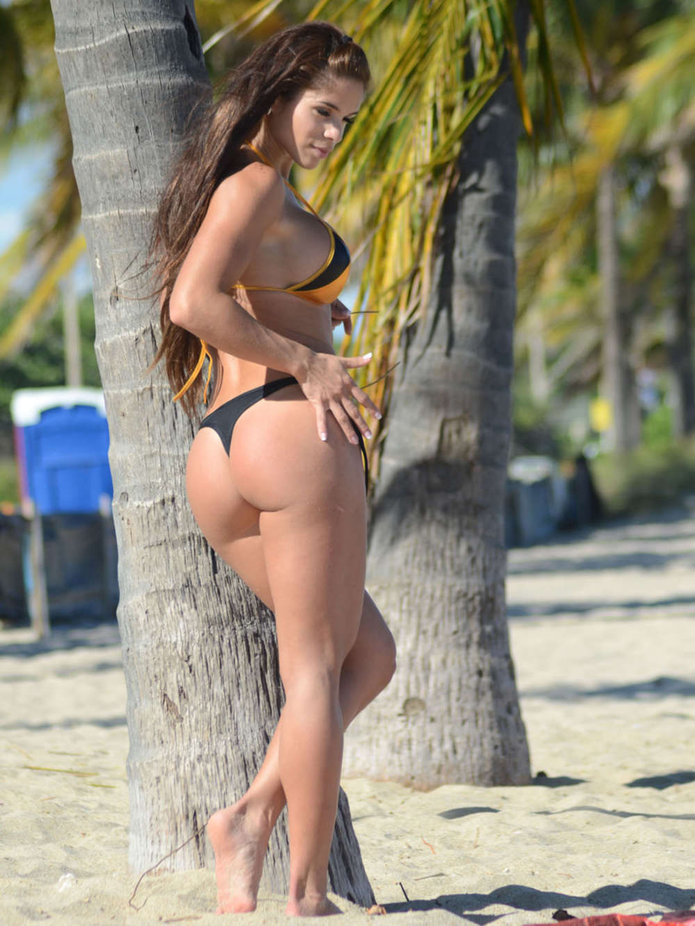 Michele Smith en bikini