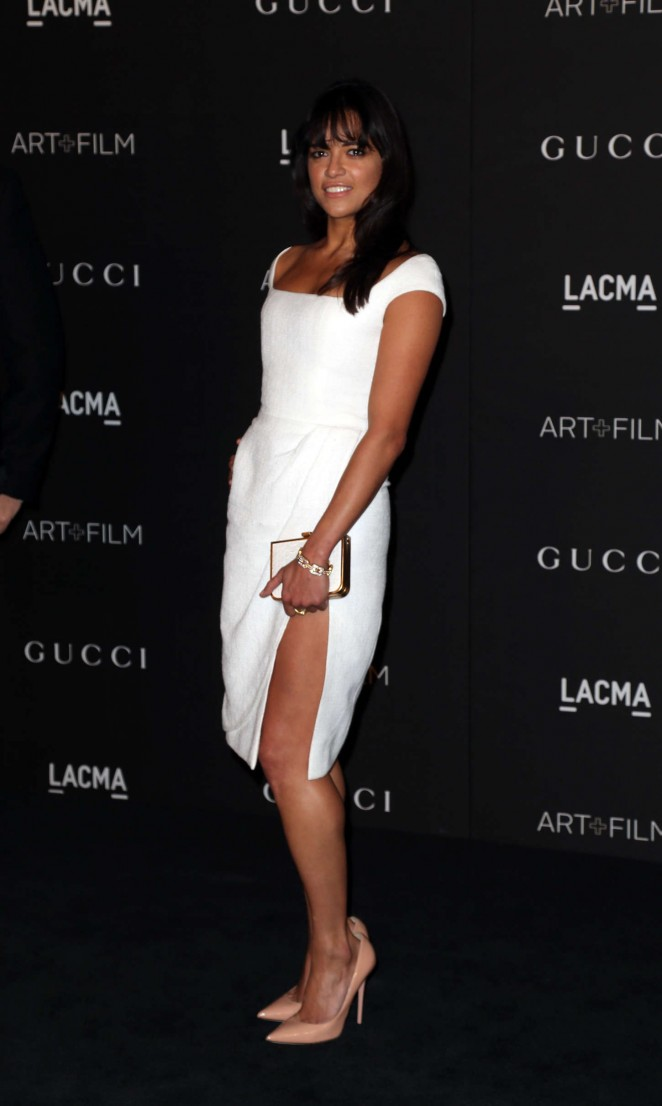 Michelle Rodriguez - LACMA Art + Film Gala 2014 in LA