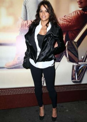 Michelle Rodriguez at Timberland Fall 2014 Concert in LA