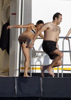 Michelle Rodriguez - Bikini Candids in Ibiza -02