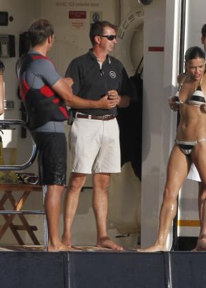 Michelle Rodriguez - Bikini Candids in Ibiza -08