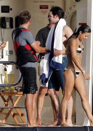 Michelle Rodriguez - Bikini Candids in Ibiza -09