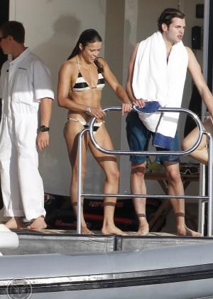 Michelle Rodriguez - Bikini Candids in Ibiza -12