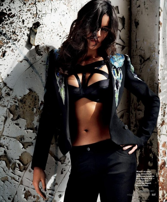 Michelle Rodriguez - InStyle Russia Magazine (Oct 2012)