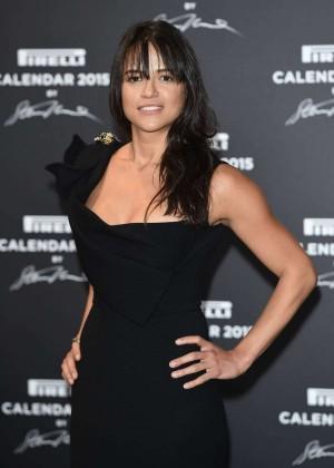 Michelle Rodriguez - 2015 Pirelli Calendar Event in Milan