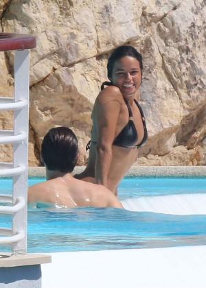 Michelle Rodriguez in bikini -01