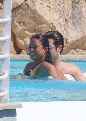 Michelle Rodriguez in bikini -17
