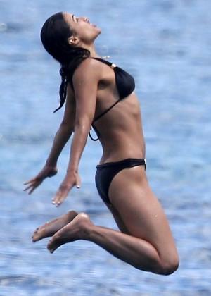 Michelle Rodriguez Bikini: 2014 in Sardinia -02