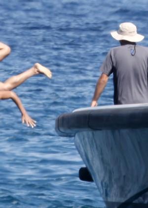 Michelle Rodriguez Bikini: 2014 in Sardinia -03