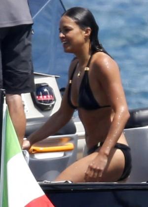 Michelle Rodriguez Bikini: 2014 in Sardinia -04