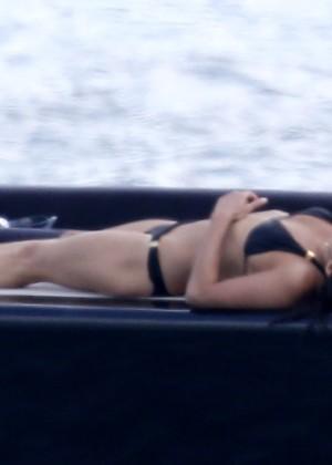 Michelle Rodriguez Bikini: 2014 in Sardinia -07