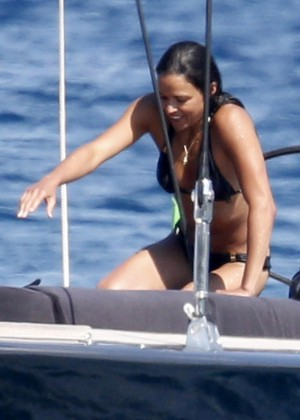 Michelle Rodriguez Bikini: 2014 in Sardinia -09