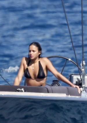 Michelle Rodriguez Bikini: 2014 in Sardinia -13