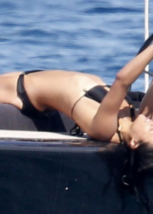 Michelle Rodriguez Bikini: 2014 in Sardinia -14