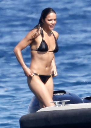 Michelle Rodriguez Bikini: 2014 in Sardinia -17