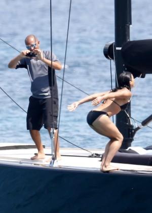 Michelle Rodriguez Bikini: 2014 in Sardinia -20