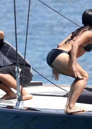 Michelle Rodriguez Bikini: 2014 in Sardinia -21