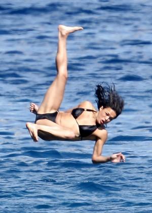 Michelle Rodriguez Bikini: 2014 in Sardinia -22