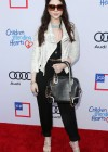 Michelle Trachtenberg at 2013 Children Mending Hearts Style Sunday in Beverly Hills -02