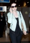 Michelle Trachtenberg - at LAX Airport -03