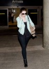 Michelle Trachtenberg - at LAX Airport -07