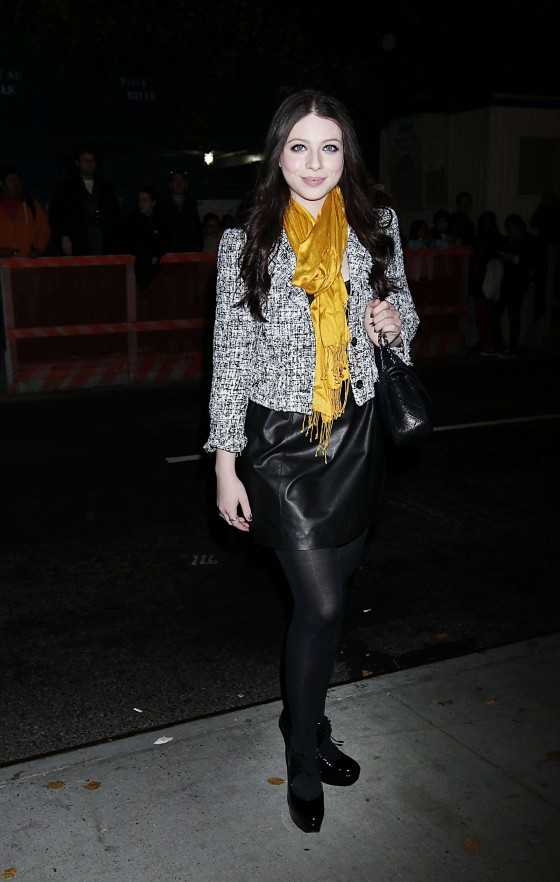 Michelle Trachtenberg at the screening of WE in NYC