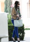 Michelle Trachtenberg Blue skinny jeans candids at  The UTA Office In LA-03