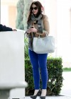Michelle Trachtenberg Blue skinny jeans candids at  The UTA Office In LA-05