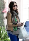 Michelle Trachtenberg Blue skinny jeans candids at  The UTA Office In LA-06